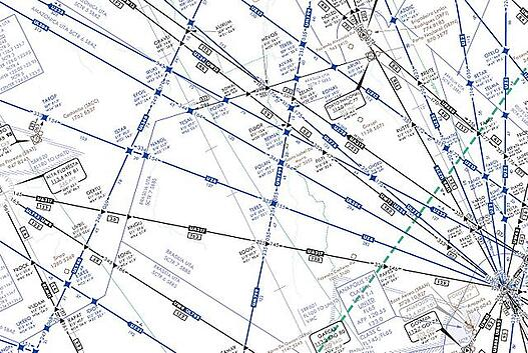 mapa rutas aereas