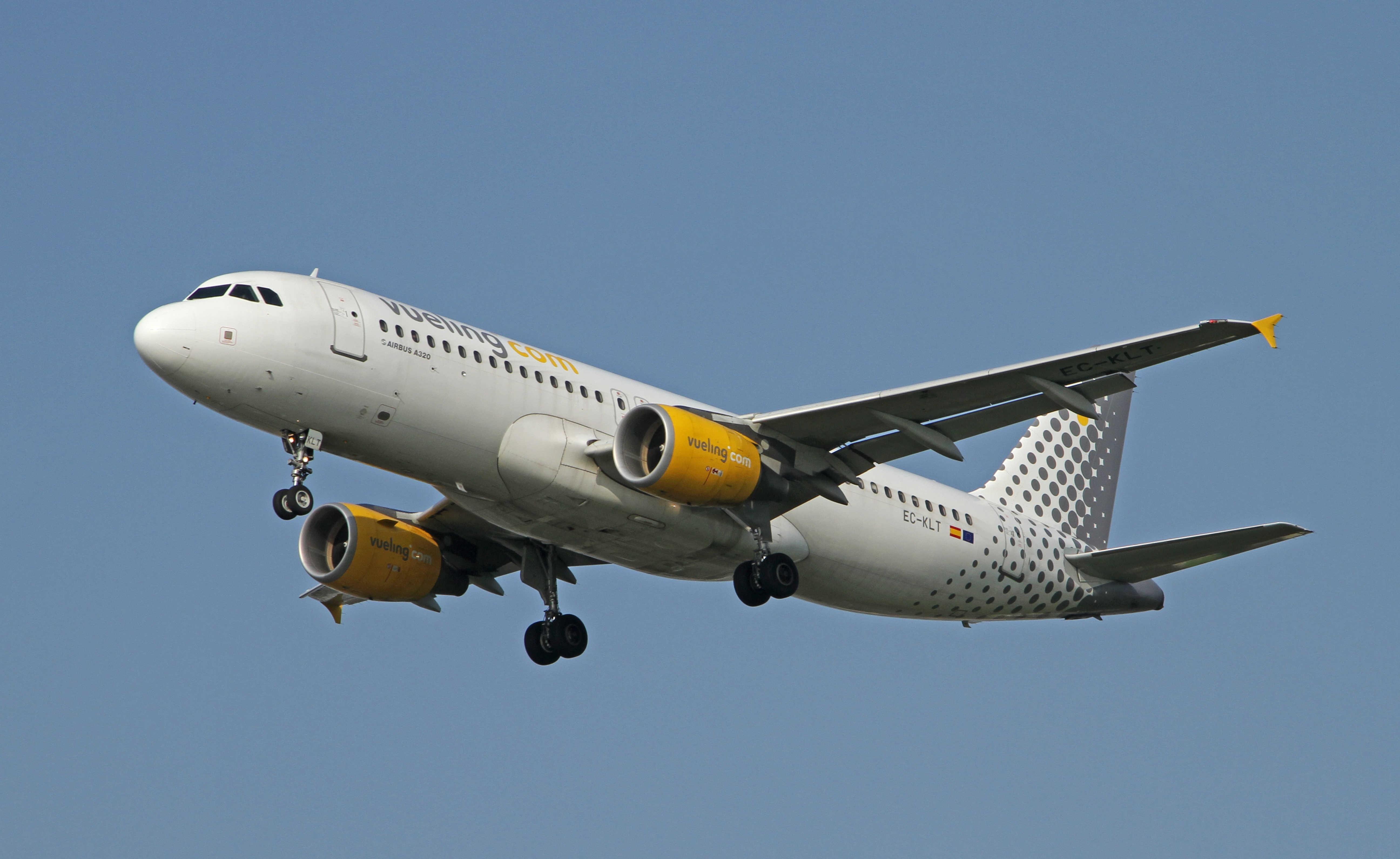 """""""CESDA, Piloto aviación comercial, Escuela de pilotos, Airbus A320 de Vueling Airlines"""""""
