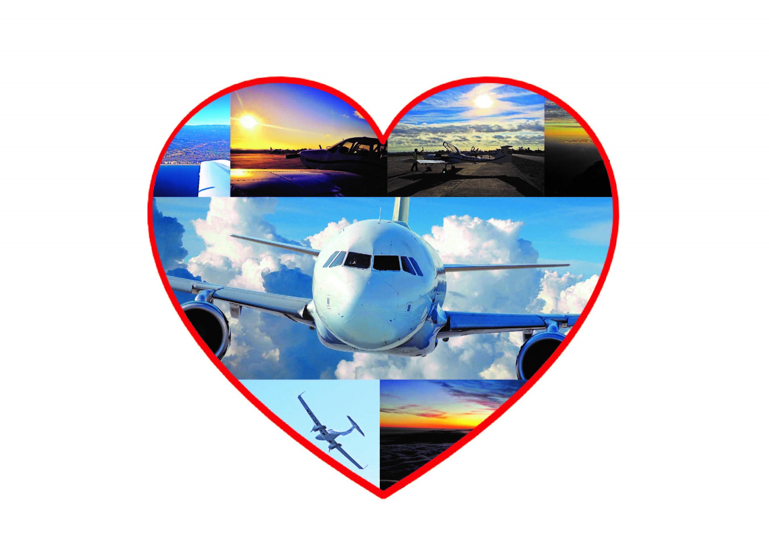 Amor a la aviación, CESDA, escuela de pilotos, love is in the air