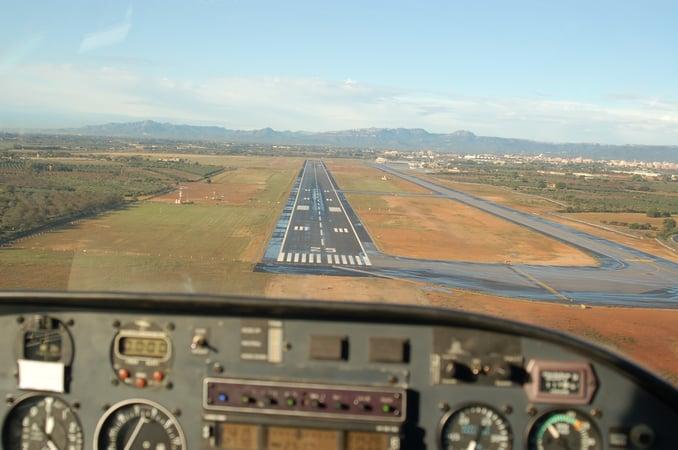 Vuelo. CESDA, escuela de pilotos (Reus)