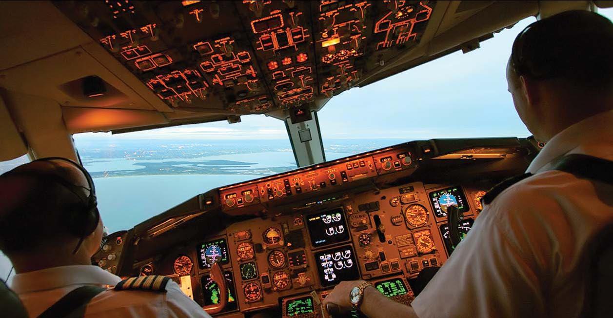 """""""CESDA, Piloto aviación comercial, Escuela de pilotos, Cabina de tripulación"""""""