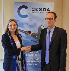"""""""CESDA, Piloto aviación comercial, Escuela de pilotos, Nueva dirección del centro"""""""