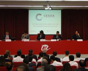 """""""CESDA, Piloto aviación comercial, Escuela de pilotos, Inauguración curso académico 2015/16"""""""