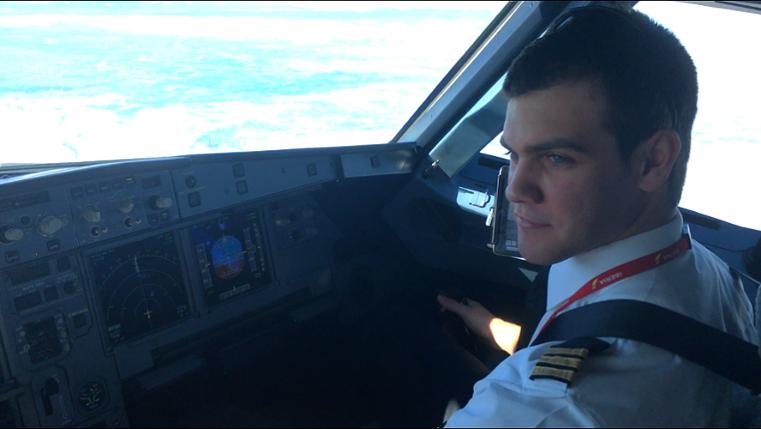 Boris Vila, antiguo alumno de CESDA escuela de pilotos