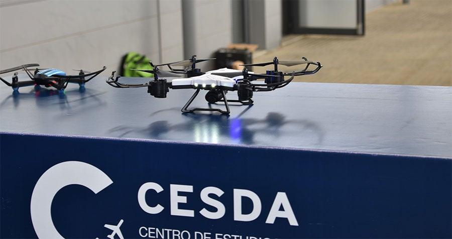 competición de drones en el Día Cesda 2019