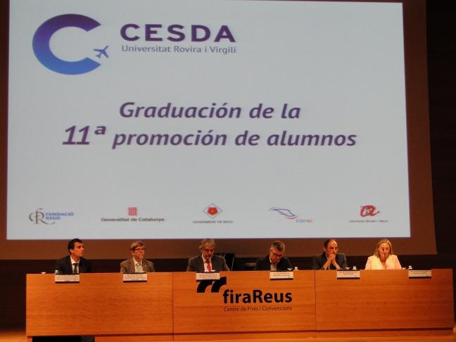 """""""CESDA, Piloto aviación comercial, Escuela de pilotos, Graduación 11ª promoción"""""""
