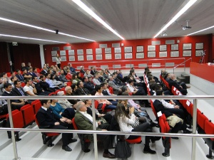 """CESDA, Piloto aviación comercial, Escuela de pilotos, Asistentes al acto de inauguración"""