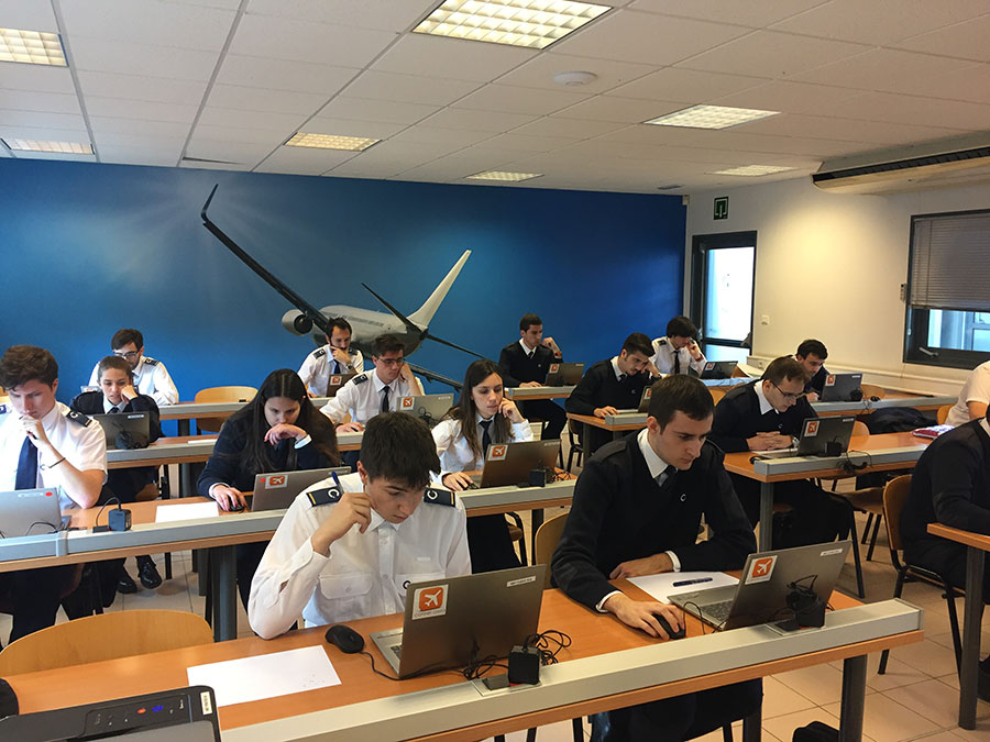 Prueba de Eurowings en CESDA