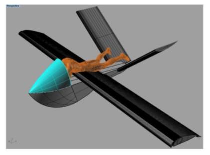 """""""CESDA, Piloto aviación comercial, Escuela de pilotos, Prototipo XSA-3 Skateplane"""""""