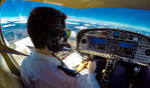 ¿Cómo debo tener la vista para ser piloto de avión?