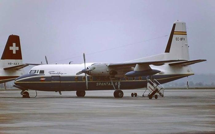 Fokker F27 de Spantax